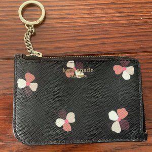Kate Spade Cameron Dusk Buds Ditsy Zip Cardholder